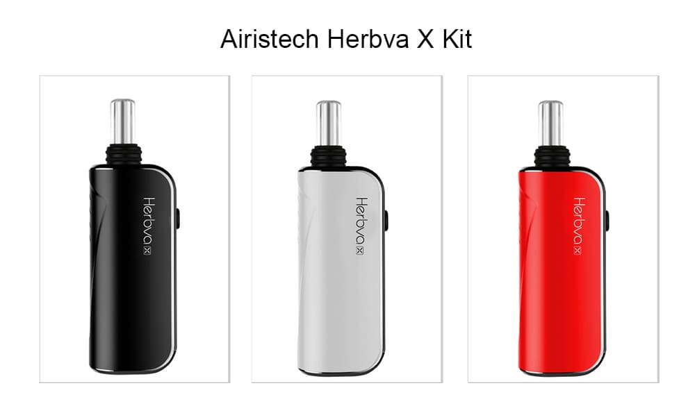 Airistech Herbva X Kit with 1000mAh for E Cigarette- Red