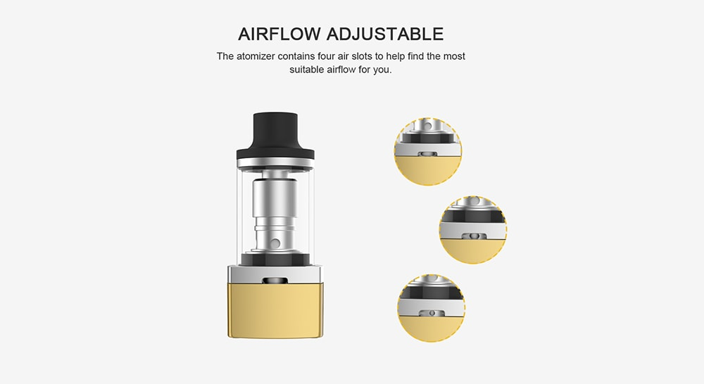 Artery Lady Q Kit with 1000mAh / 1.5ml / 0.7 ohm Clearomizer for E Cigarette- Red