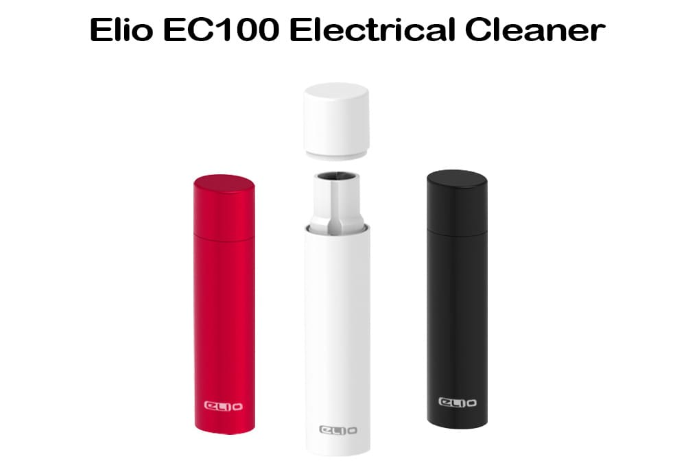 Elio EC100 Electrical Cleaner with Built-in 300mAh Li-ion Battery- Ruby Red
