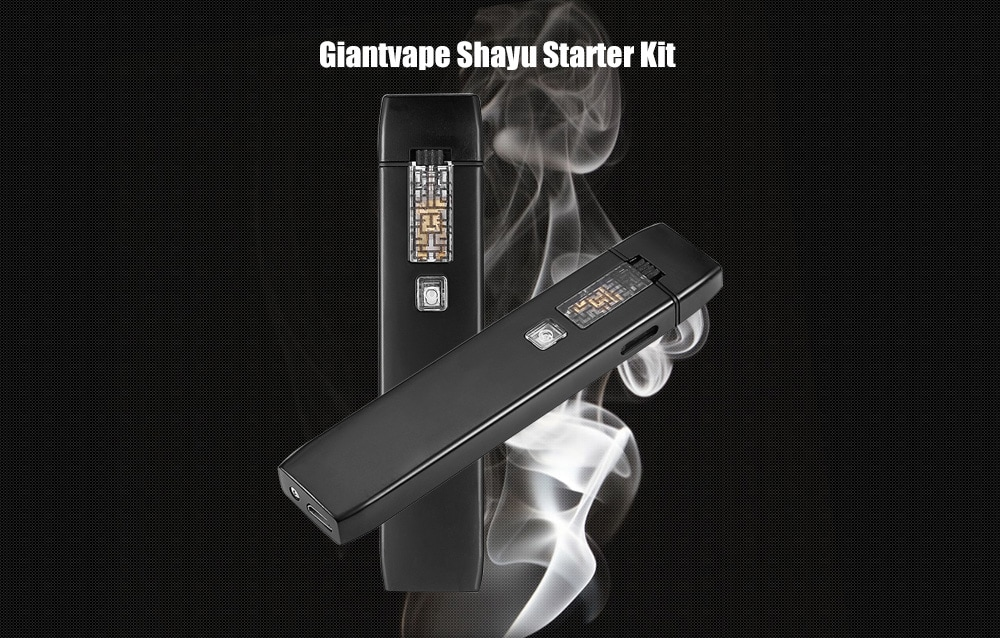Giantvape Shayu Starter Kit with 450mAh / 0.8ml for E Cigarette- Black