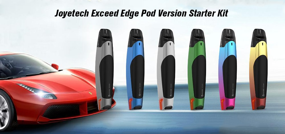 Joyetech Exceed Edge Pod Version Starter Kit with Built-in 650mAh Li-ion Battery- Multi-A