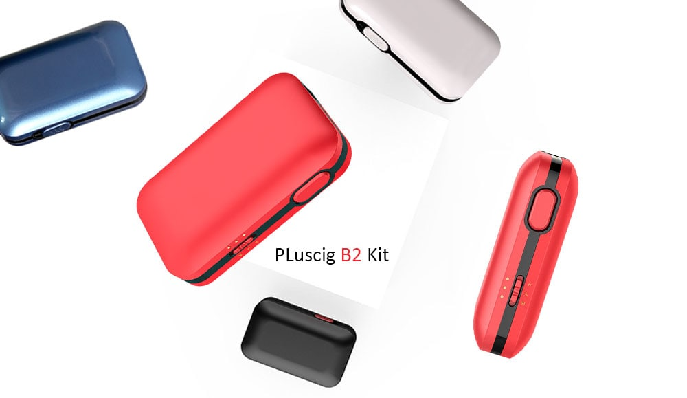 PLuscig B2 Kit with Built-in 2200mAh Li-ion Battery for E Cigarette- Platinum