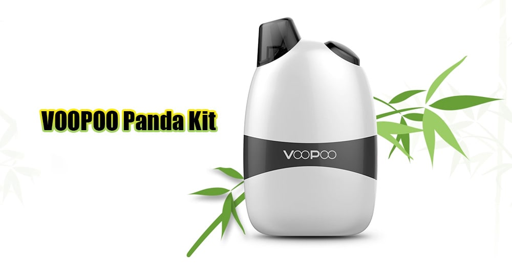 VOOPOO Panda Kit with Built-in 1100mAh Li-ion Battery for E Cigarette- Silver