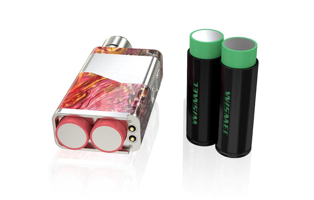 WISMEC Luxotic NC 250W 20700 Box Mod Supporting 2pcs 18650 / 20700 Batteries for E Cigarette- Green